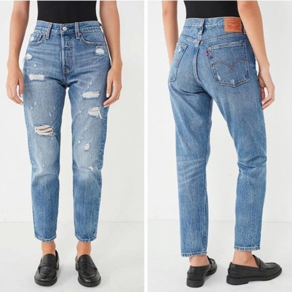 Levi's Denim - Levi's | Wedgie Icon Partner in Crime Distressed